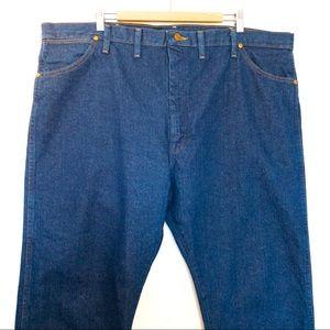 Wrangler Men Size 44x30 Jeans Western Cowboy